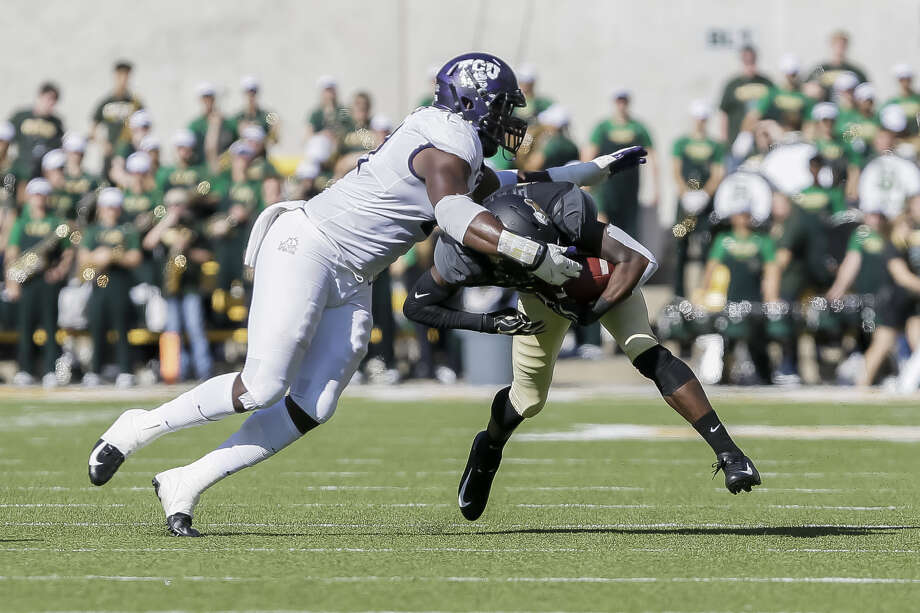 The Seahawks selected TCU defensive end L.J. Collier with the 29th pick in the 2019 NFL Draft on Thursday.  Photo: Icon Sportswire/Getty Images