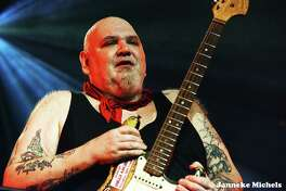 Blues and rock singer and guitarist Popa Chubby is performing at Infinity Music Hall in Norfolk on Friday, May 3, 2019.