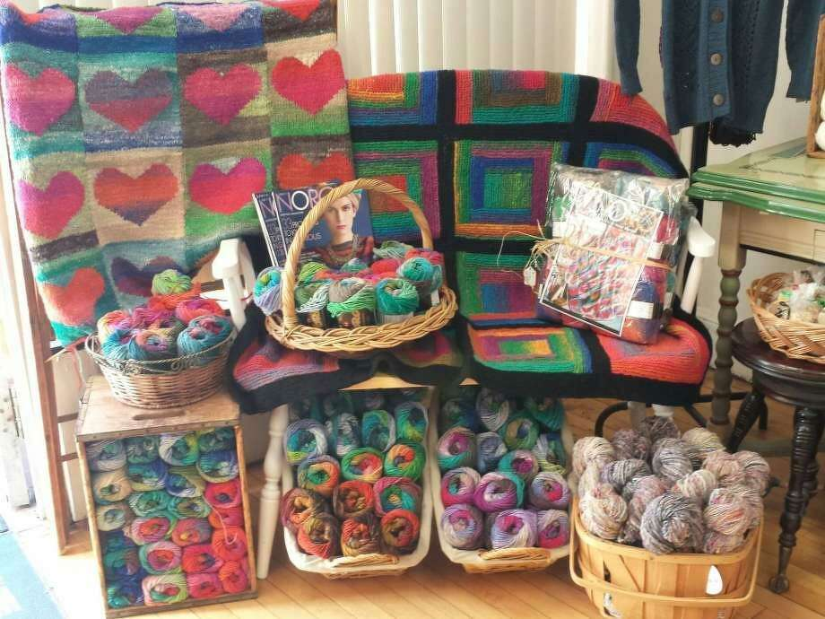 Saturday, April 27, 2019 is National Yarn Shop Day, and In Sheep's Clothing is joining in the celebration. Photo: Ginger Balch / Contributed Photo