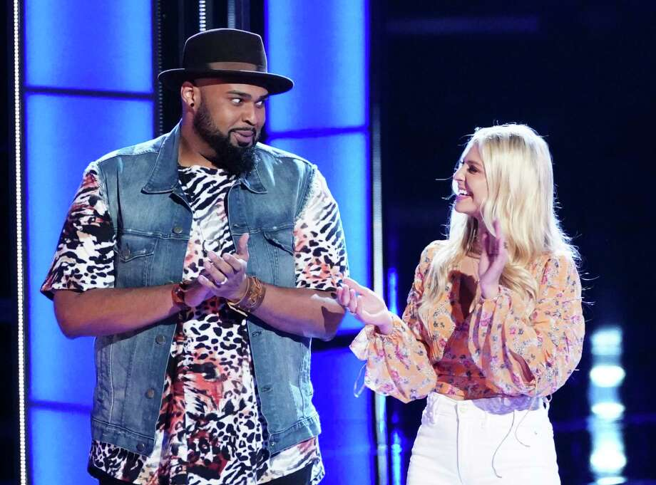 Houston teacher Shawn Sounds moves on to the top 24 on 'The Voice.' Photo: NBC / 2019 NBCUniversal Media, LLC