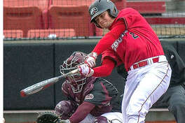 SIUE senior catcher Brock Weimer's fifth-inning grand slam Tuesday against Western Illinois was his 33rd career homer and tied former SIUE outfielder Devin Caldwell's career home run record. SIUE won 15-2 in five innings.
