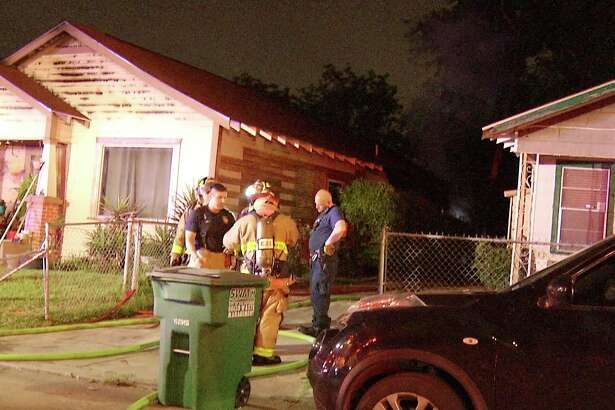 A house fire early Wednesday on the South Side displaced a family of six, authorities said.