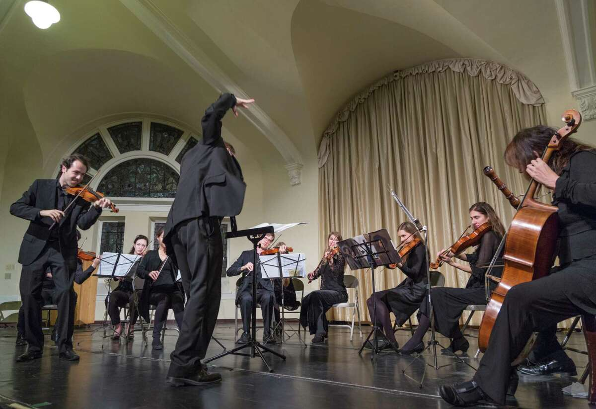 The American Baroque Orchestra in action.