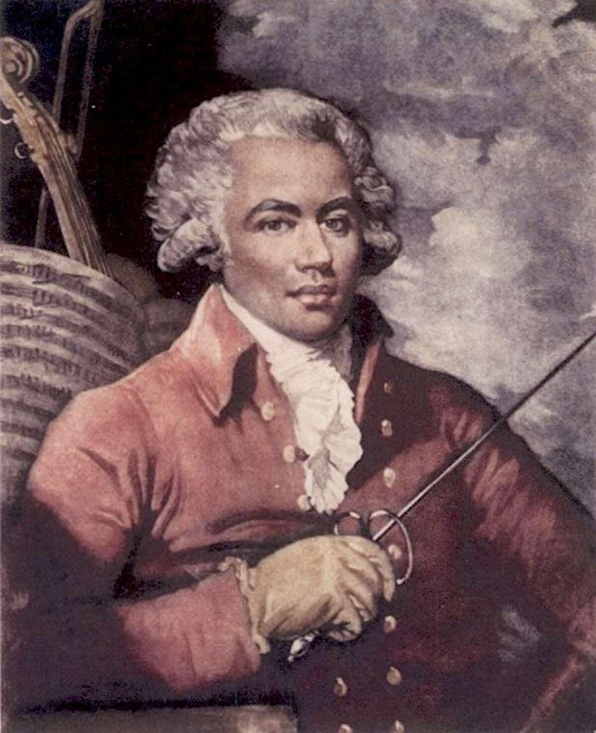 A portrait of Joseph Bologne.