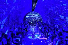 Balenciaga's fashion show in Paris in September.