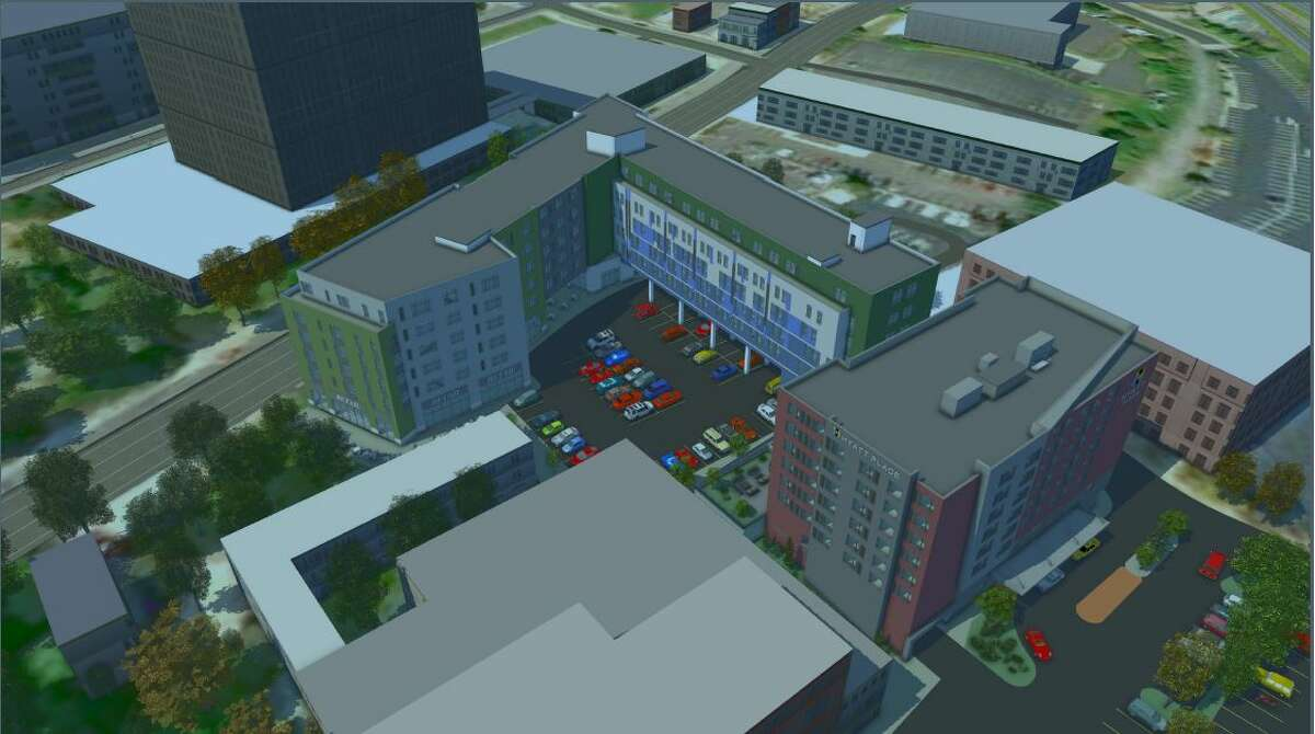 Pioneer Companies' downtown Albany project won planning board approval.