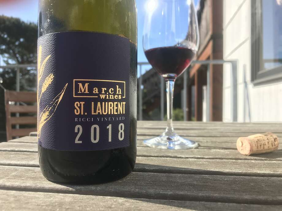 March Wines St. Laurent Ricci Vineyard 2018 ($32, 12%) Photo: Esther Mobley/The Chronicle