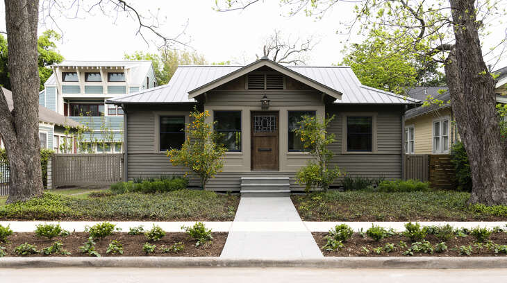 This home at 808 Bomar will be on the 2019 East Montrose Home Tour and Art Walk, April 27, 2019.