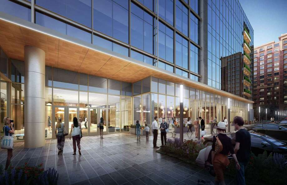 The Park Place Tower office development will have retail on the ground floor. Photo: Stonelake Capital Partners