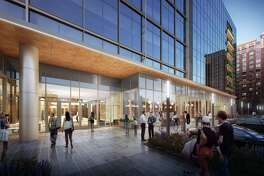 The Park Place Tower office development will have retail on the ground floor.