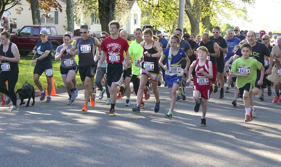 The Middlesex Community College Foundation 16th annual Cap and Gown 5K will take place May 10 at 100 Training Hill Road, Middletown. Photo: Contributed Photo