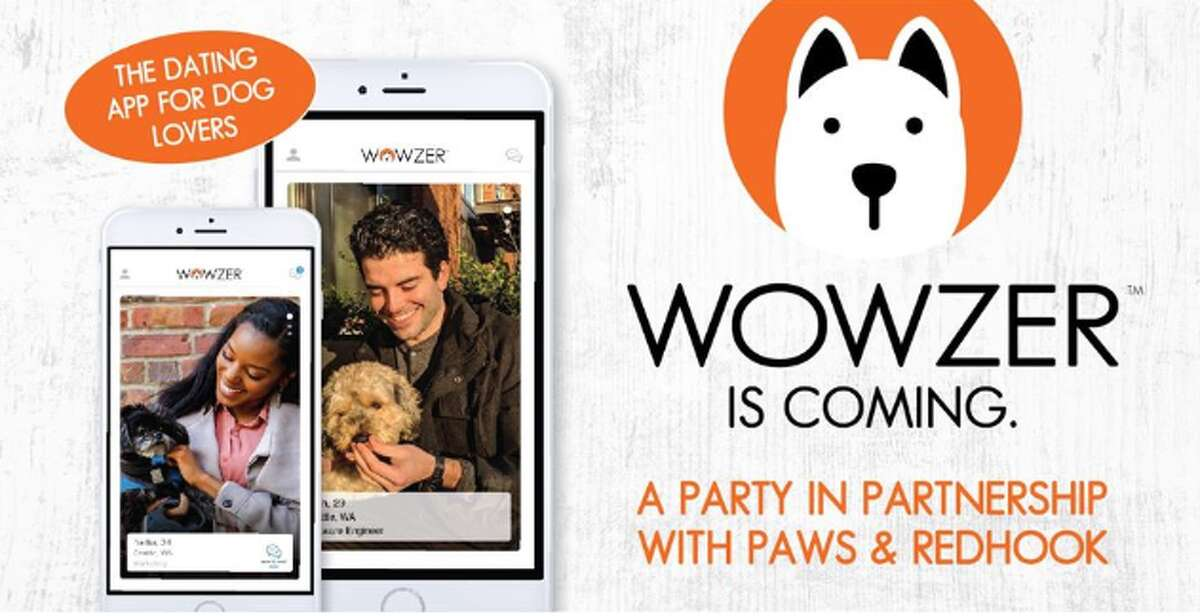 An event on Sunday, April 28 at Redhook Brewlab on Capitol Hill will debut Wowzer, a new dating app for dog lovers, and benefit the Progressive Animal Welfare Society (PAWS).