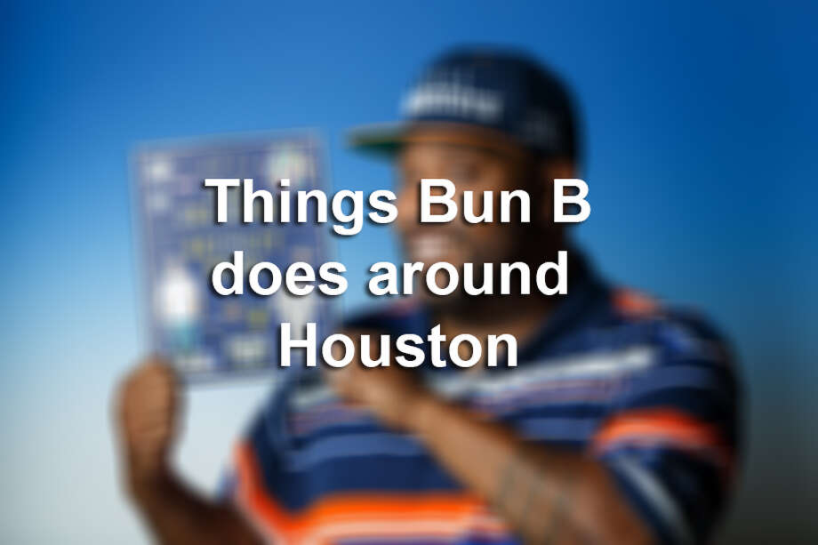 >> Browse through the following photos for a look at all the different things Bun B does in the Houston area. Photo: Houston Chronicle