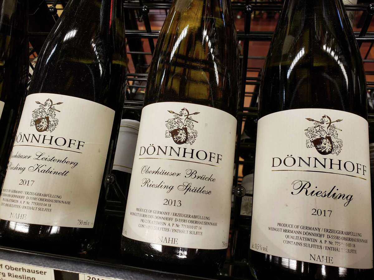 A range of Donnhoff wines at Ancona's in Wilton imported from Germany. Ancona's Wines & Liquors, Ridgefield and Wilton: Best wine shop finalist Ancona's shop traces its lineage back to the 1800s when a husband and wife opened a general store. It has evolved into a family-run line of stores featuring wines imported from all over. Each bottle comes with a unique experience.  anconaswine.com
