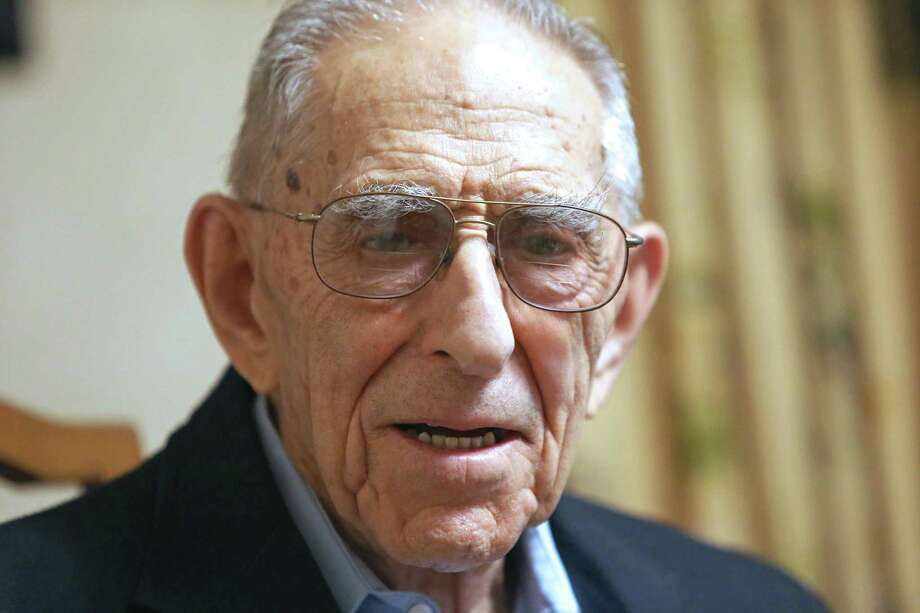 Morton Katz, 99, will be honored on Law Day for a life of legal service. Photo: Emily J. Reynolds / For Hearst Connecticut Media / Connecticut Post Freelance