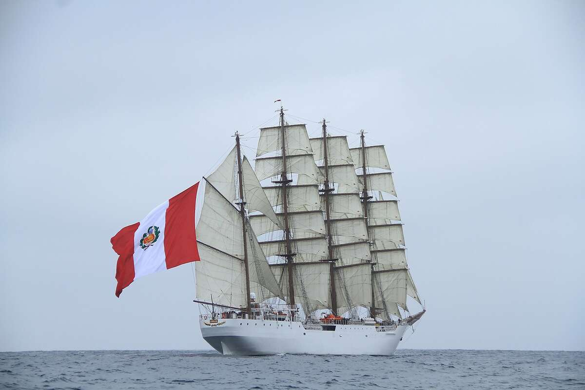 The Gold Rush-era ship, Union, is set to pass beneath the Golden Gate Bridge early Friday to help celebrate the 170th anniversary of the Peruvian consulate in San Francisco.