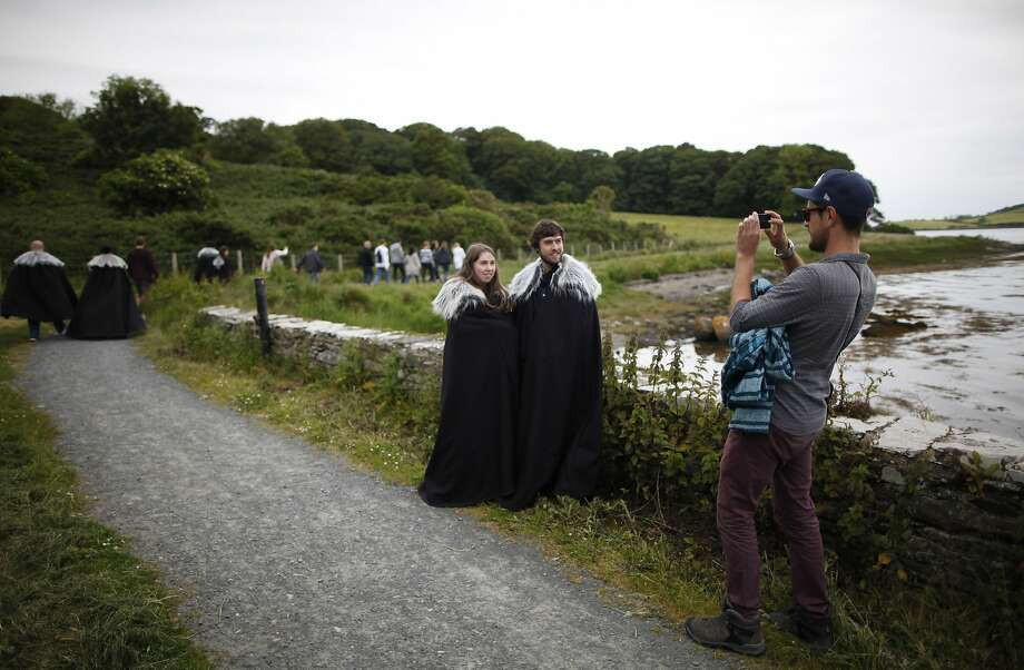 """""""Game of Thrones"""" fans head to locations used for filming the series in Strangford, Northern Ireland. Photo: Photos By Peter Morrison / Associated Press 2014"""
