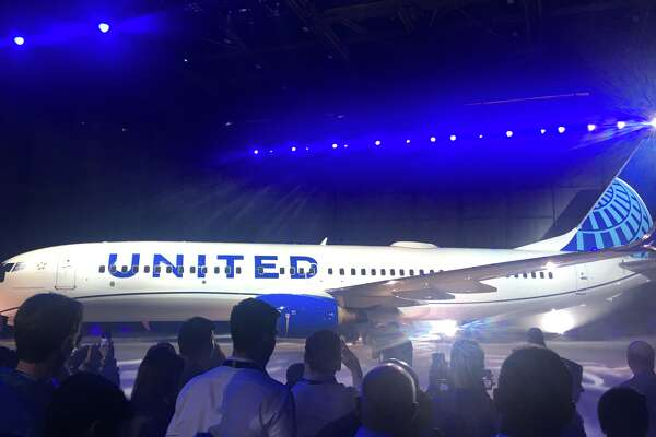 United Airlines revealed its new look at an event in Chicago in April 2019