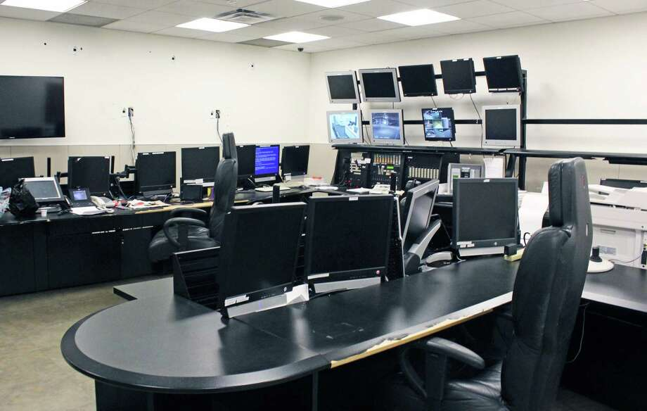 A ready-made dispatch center at the former General Electric headquarters on Easton Turnpike could possibly become the combined emergency dispatch for Fairfield and Westport. The property is now owned by Sacred Heart University. Photo: Genevieve Reilly / Hearst Connecticut Media / Fairfield Citizen