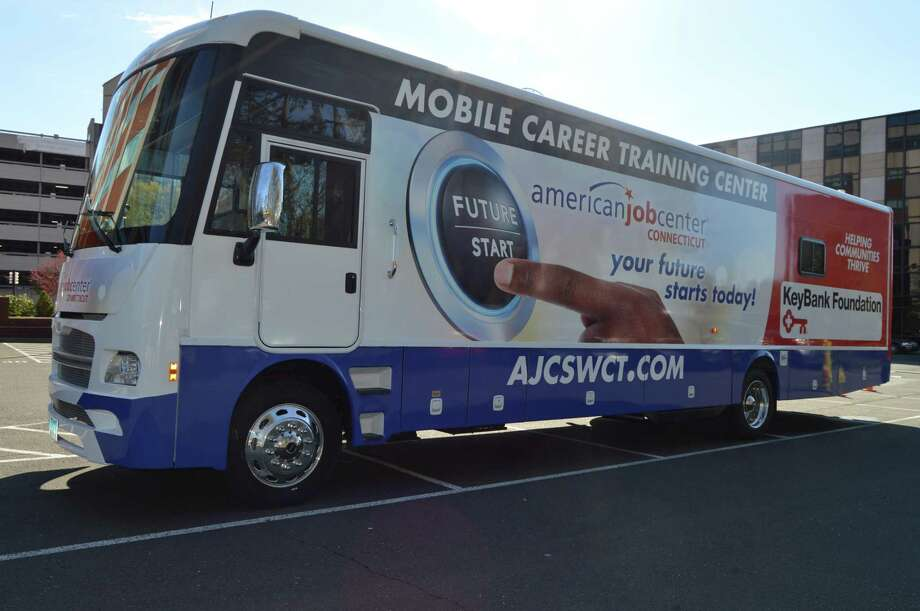 The Workplace has debuted it's new American Job Center Career Coach vehicle. Photo: Contributed Photo / Contributed Photo / Connecticut Post Contributed