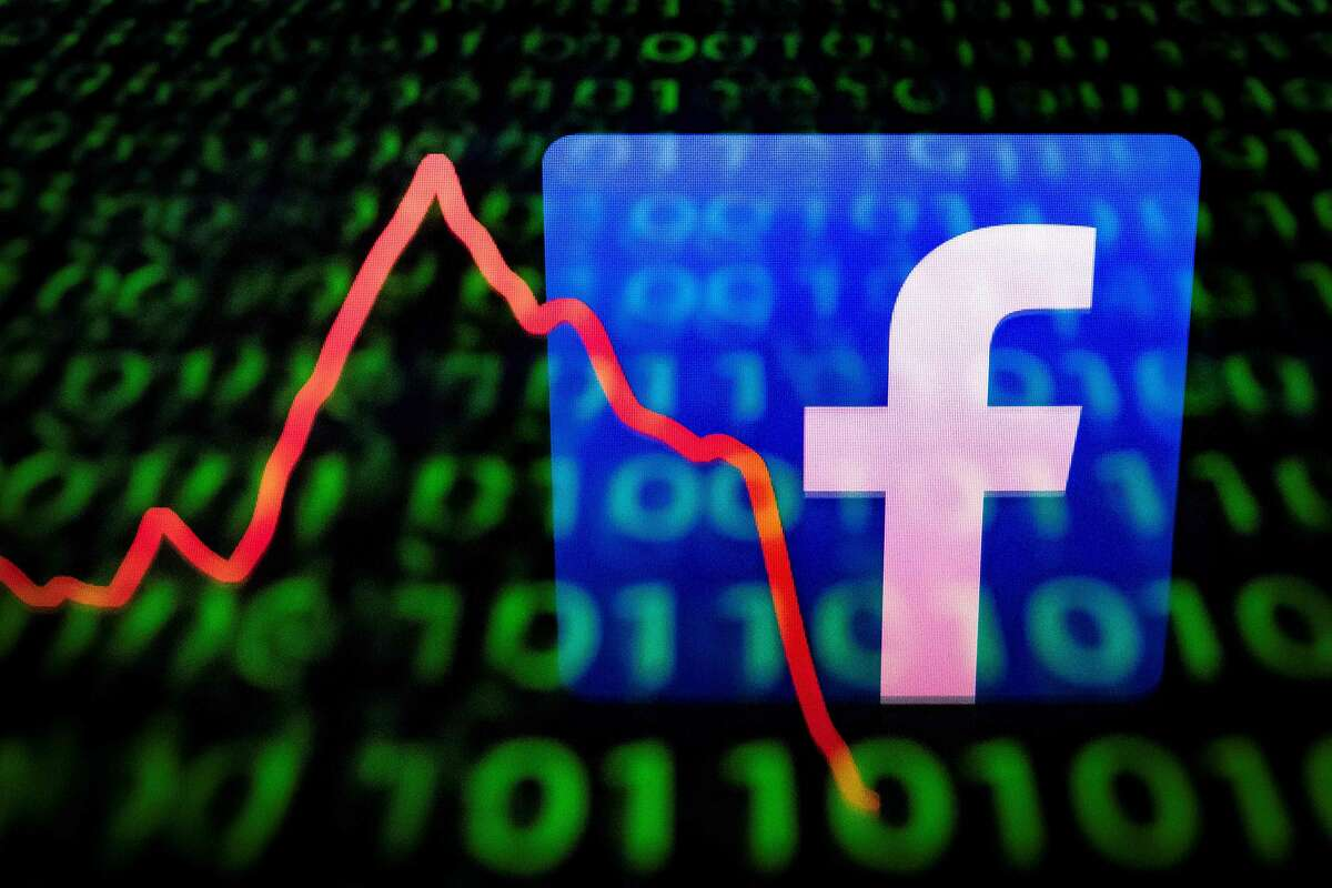 (FILES) This file illustration picture taken on April 26, 2018 in Paris shows the logo of social network Facebook displayed on a screen and reflected on a tablet. - On Wednesday April 24, 2019 Facebook reported quarterly profit sank 51 percent from a year earlier due to setting aside $3 billion for an anticipated fine from US regulators. (Photo by Lionel BONAVENTURE / AFP)LIONEL BONAVENTURE/AFP/Getty Images