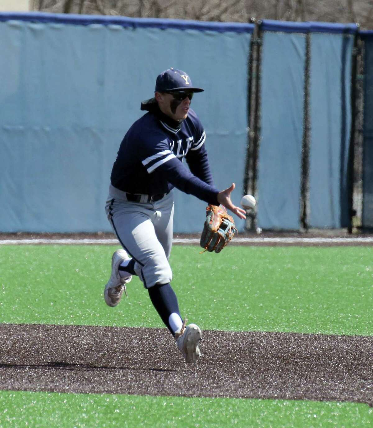 Trumbull's Simon Whiteman has made a seamless transition from second base to shortstop at Yale.