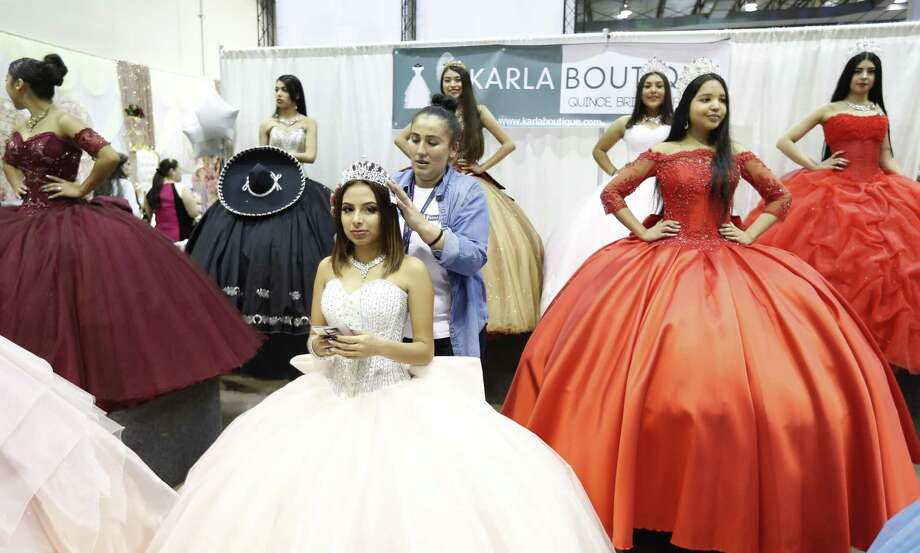 As rituals have declined, the ones we cling to — including quinceañeras, have become bloated. Between these lavish exceptions, daily life is unstructured. Photo: Karen Warren / Staff Photographer / © 2019 Houston Chronicle