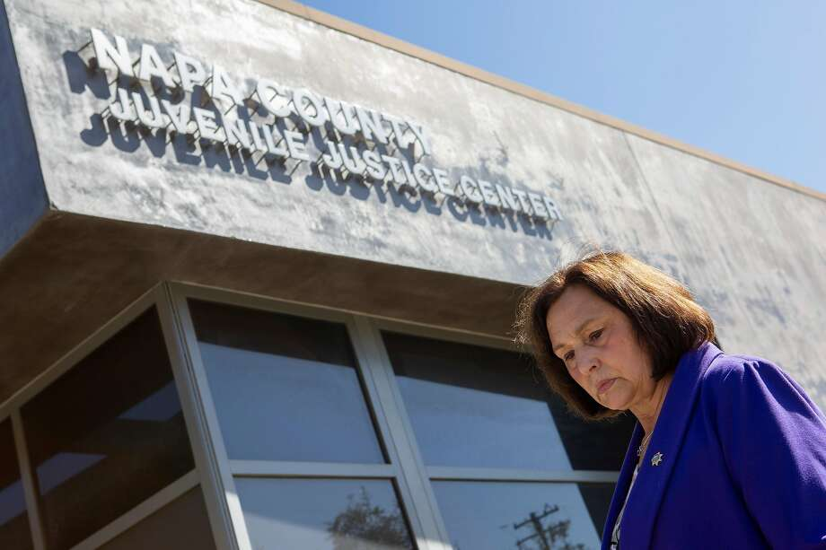 Mary Butler, Napa County's chief probation officer, at the Napa County Juvenile Hall on April 24, 2019. Photo: Santiago Mejia / The Chronicle