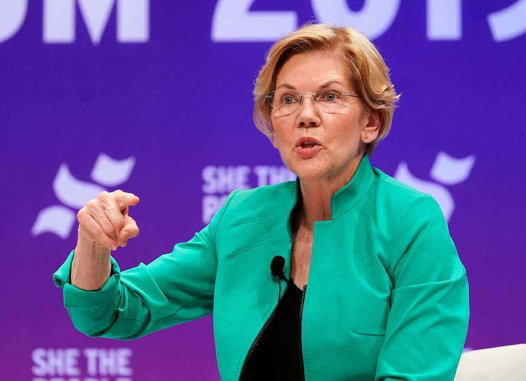 "<b>Massachusetts Senator Elizabeth Warren: Supports</b><div><b><br></b></div><br /> <div>Warren was<a href=""https://www.sfgate.com/news/article/Warren-defends-call-to-impeach-Trump-while-other-13786962.php"" target=""_blank""> the first</a> Democrat running for president to call for Trump's impeachment following the release of the Mueller report.</div>"