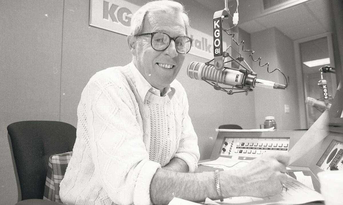 Dunbar, a member of the Radio Hall of Fame, celebrates his 25th year on the air, March 10, 1988.