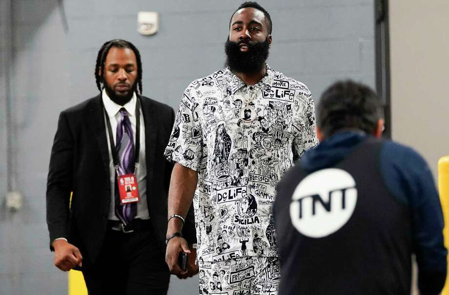 PHOTOS: A look at Rockets players arriving for Game 5 against the Utah Jazz on Wednesday night