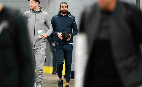 c44d2d9c7346 Utah Jazz guard Ricky Rubio (3) walks into the Toyota Center before Game 5