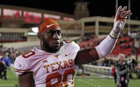 Charles Omenihu was named the Big 12's best defensive lineman after recording 9½ sacks in 2018.