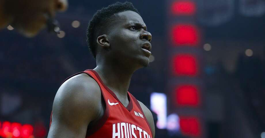 PHOTOS: Rockets game-by-game Houston Rockets center Clint Capela (15) celebrates a play during the first half of game 2 during  the NBA playoffs at the Toyota Center in Houston, Wednesday, April 17, 2019. Browse through the photos to see how the Rockets fared in each game this season. Photo: Karen Warren/Staff Photographer