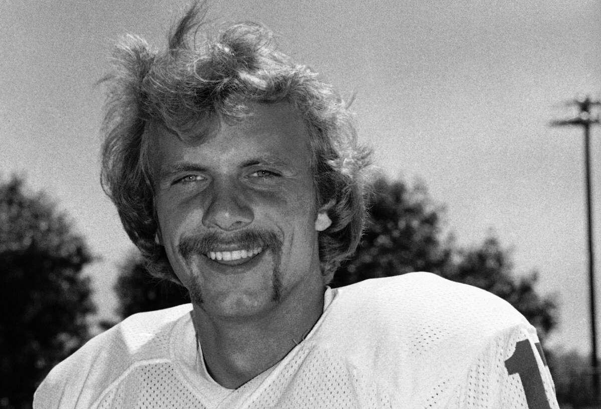Quarterback Joe Montana (16) in August 1979. (AP Photo)