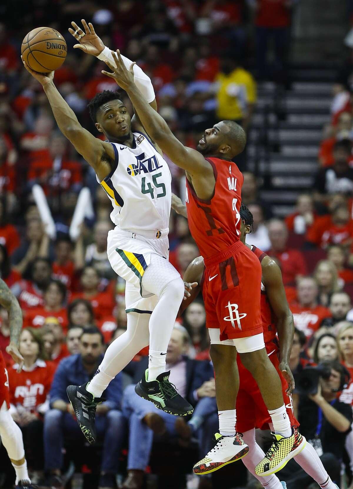 14. (tie) Donovan Mitchell, Guard, Utah Jazz Odds to win NBA MVP: +4,000