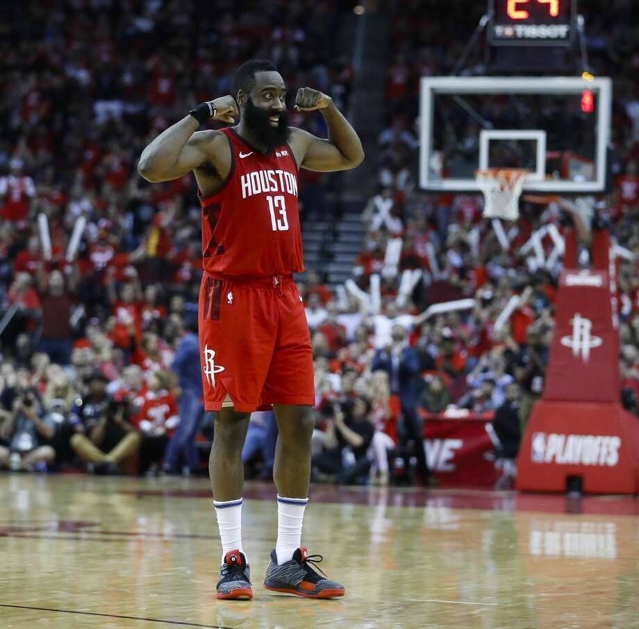 James Harden Rockets: Game 5: Rockets 100, Jazz 93