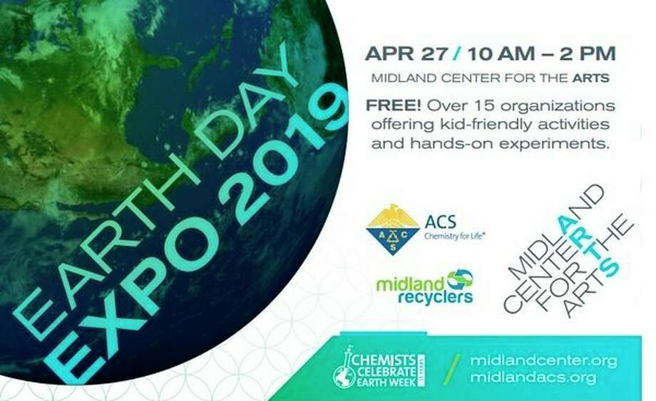 The free, annual Earth Day Expo will take place from 10 a.m. to 2 p.m. on Saturday, April 27 at the Midland Center for the Arts.
