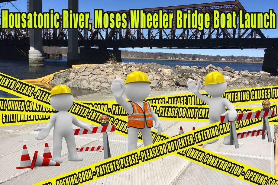 DEEP: Stay away, new Housatonic River boat ramp not open yet