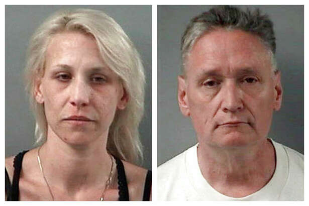JoAnn Cunningham and her husband, Andrew Freund, who have been charged in the death of their 5-year-old son. Crystal Lake Police Department | AP