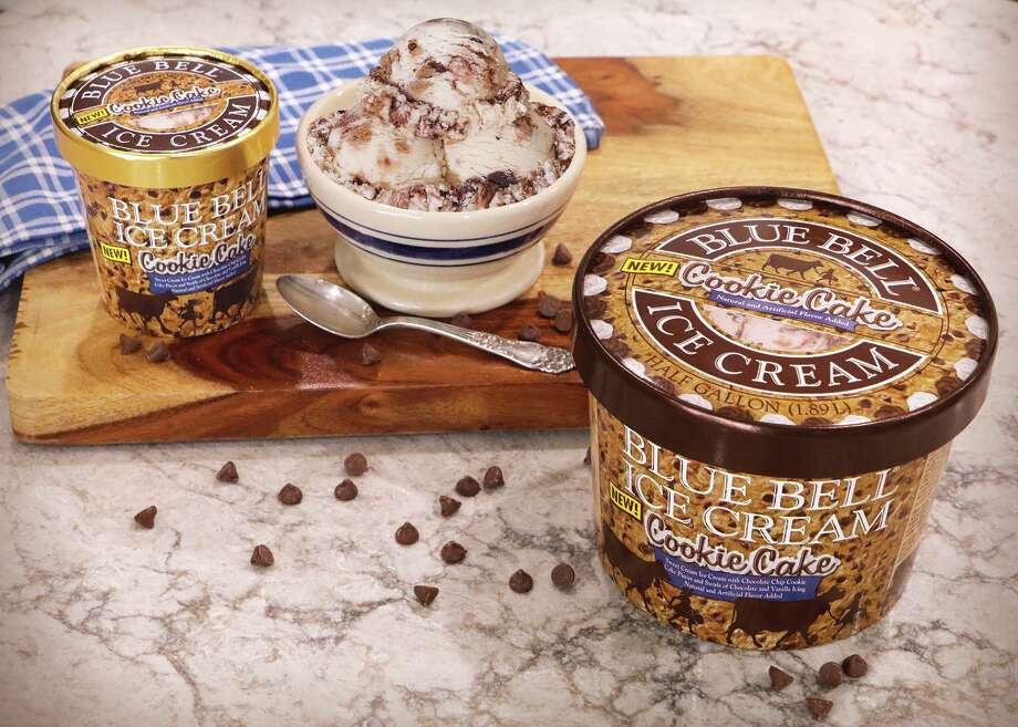 Blue Bell released an all new flavor called Cookie Cake. Photo: Blue Bell Ice Cream