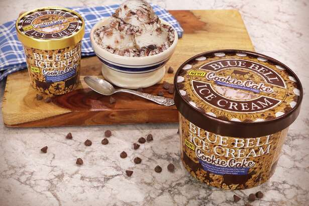Blue Bell released an all new flavor called Cookie Cake.
