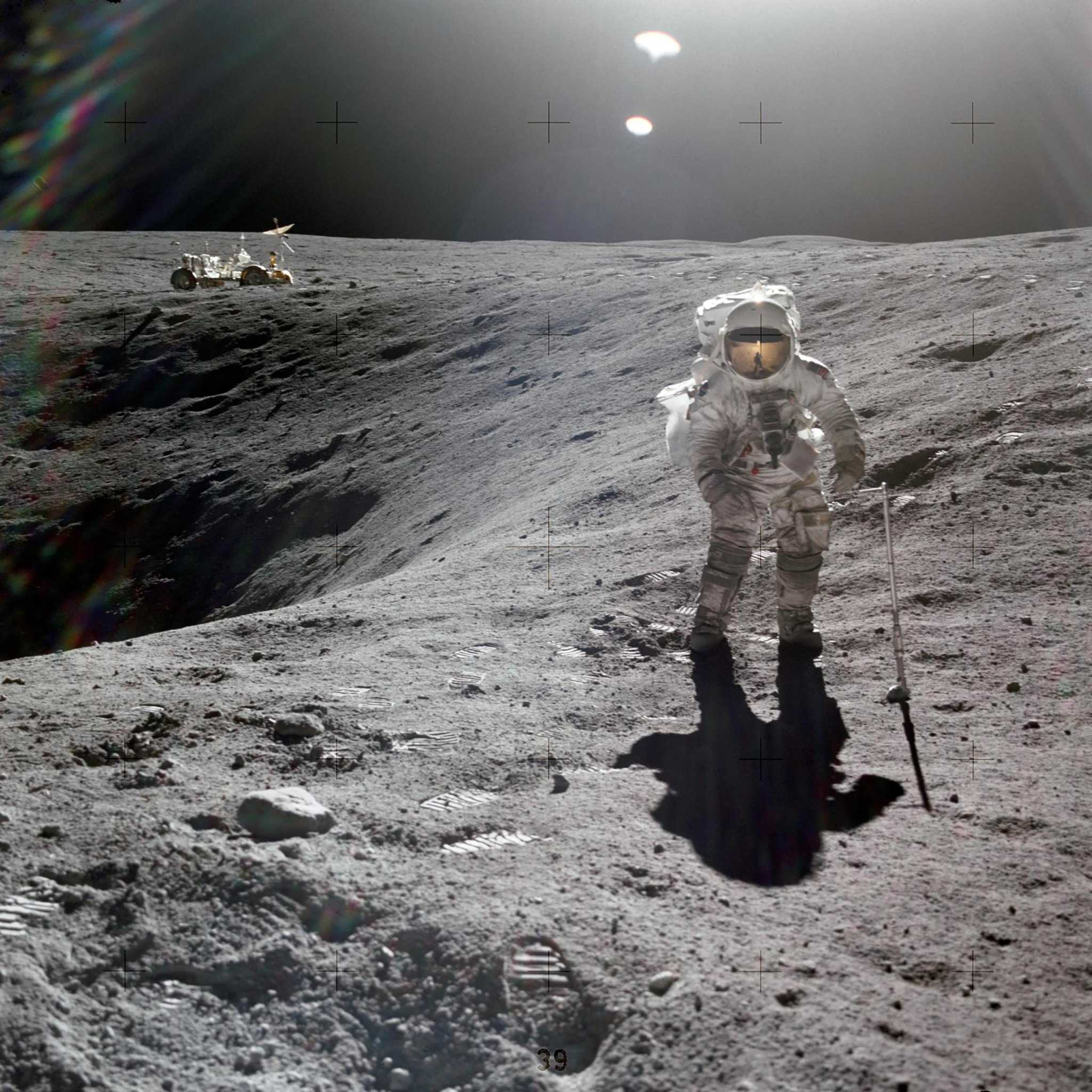 Youngest man on the moon: Astronaut Charles Duke left family photo behind