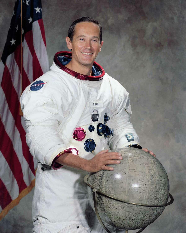 Astronaut Charles M. Duke Jr. is shown here 1971.