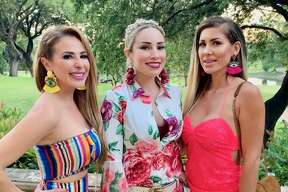 The ladies from the new San Antonio-based Bravo show 'Texicanas' stepped out for Fiesta for the exclusive Taste of the Northside event Wednesday night.