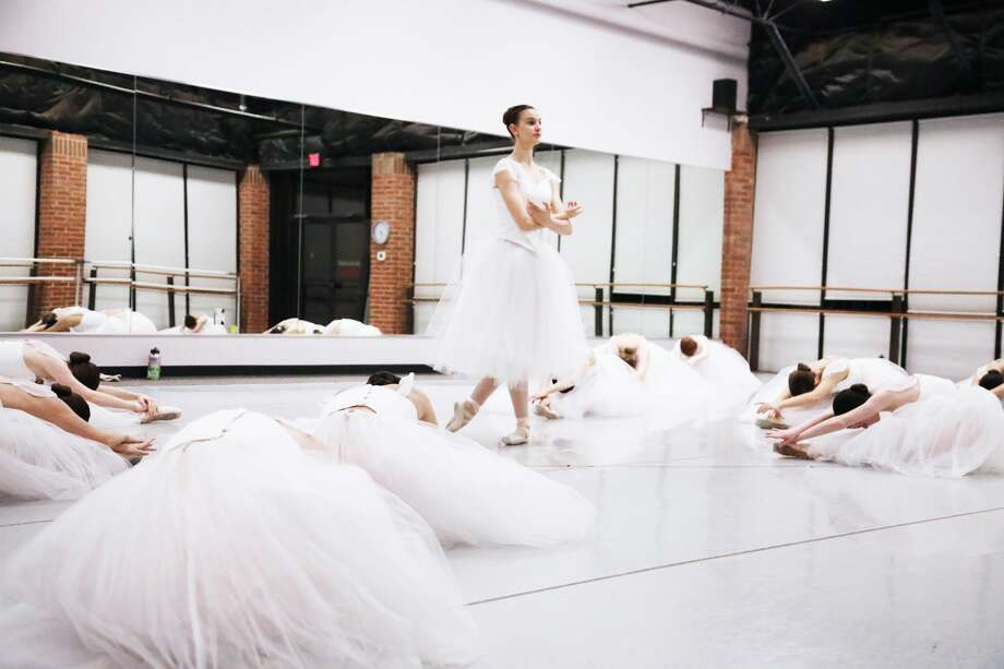 "Midland Festival Ballet caps off its 25th season with ""Giselle."" Dancers rehearse for the one-night only performance at the Wagner Noel Performing Arts Center on April 27. Photo: Courtesy MFB"
