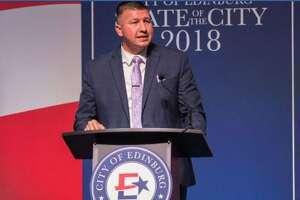 Edinburg Mayor Richard Molina was arrested Thursday in a voting fraud investigation.