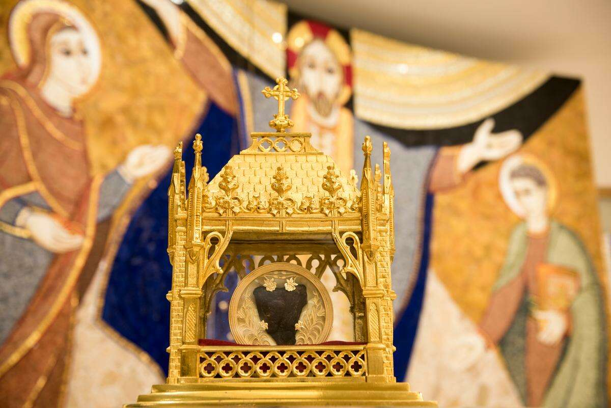 A relic of St. John Vianney will be on display at St. Catherine of Siena Church in Trumbull next week.