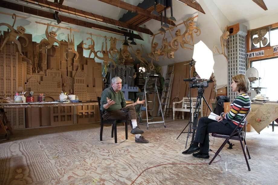 "A documentary, ""The Cardboard Bernini,"" examines the work and life of Redding artist James Grashow. Photo: Contributed Photo / The News-Times Contributed"