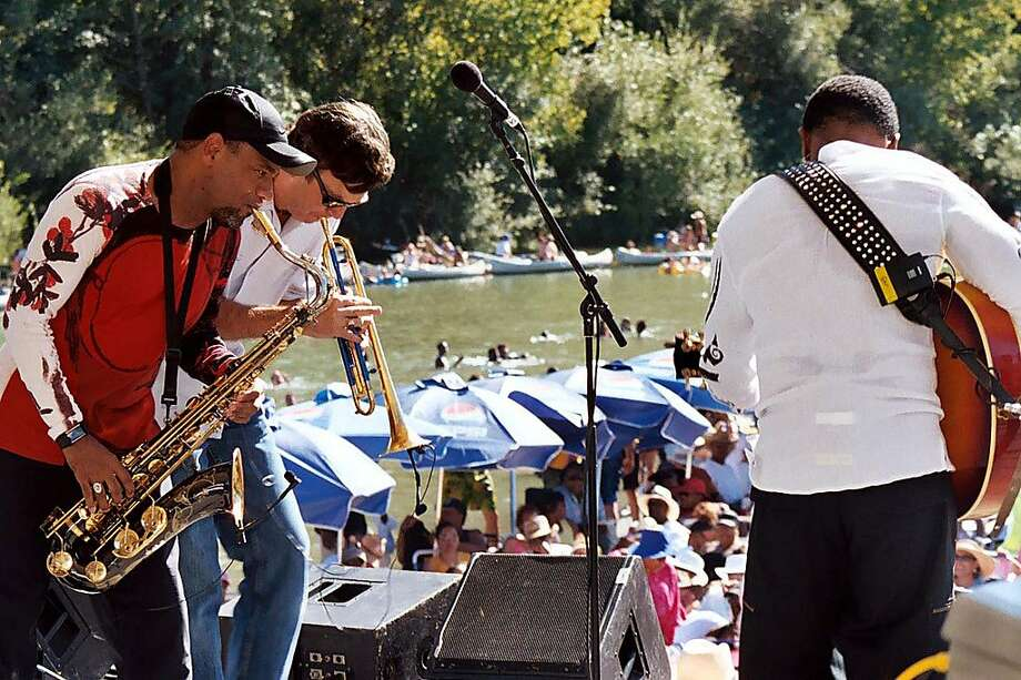 In this file photo, the band BWB performing at an earlier Russian River Jazz Festival.